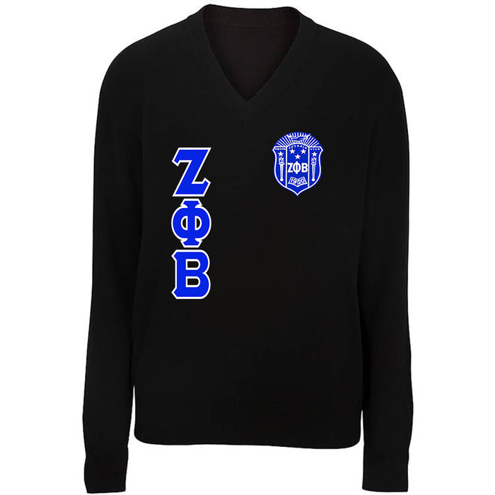 Zeta Phi Beta V-neck Cardigan