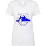 Zeta Phi Beta  Brother Sister Bonded shoes Ladies V-neck T-shirt