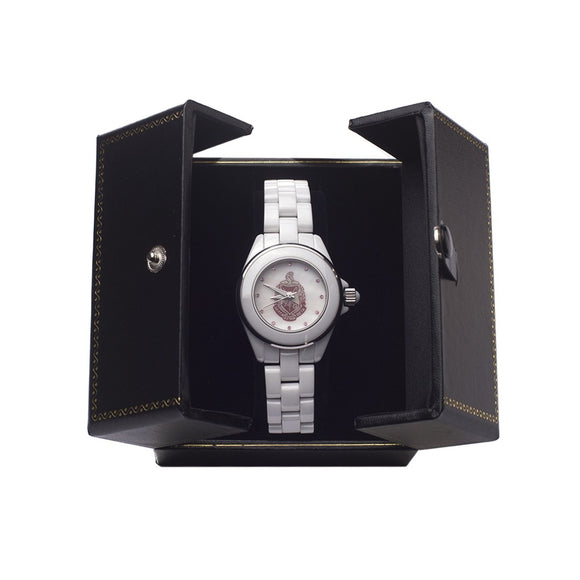 Delta Sigma Theta Ceramic Shield Watch