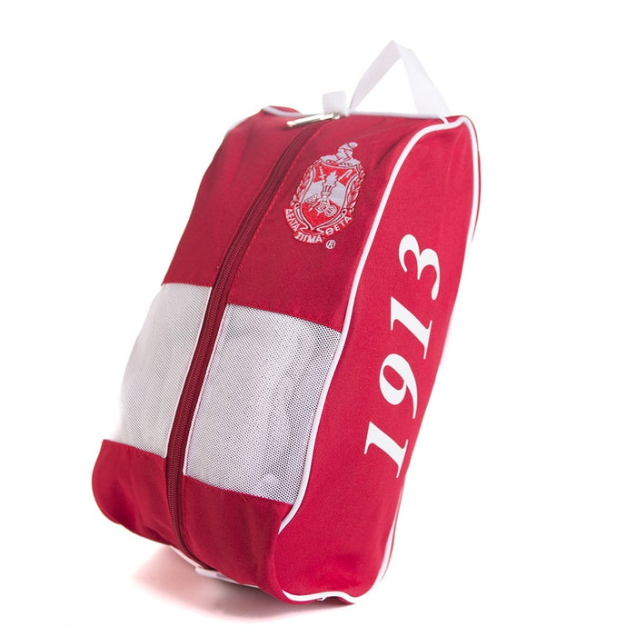 Delta Sigma Theta Red Shoe Bag