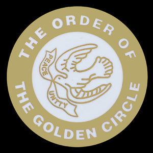 The Order Of The Golden Circle Lapel Pin- 1""