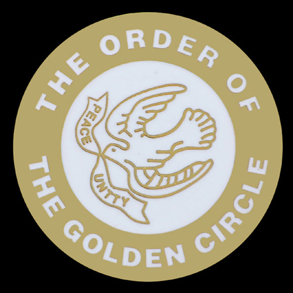 The Order Of The Golden Circle Lapel Pin- 1