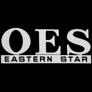 OES Chrome Cut Out Car Tag