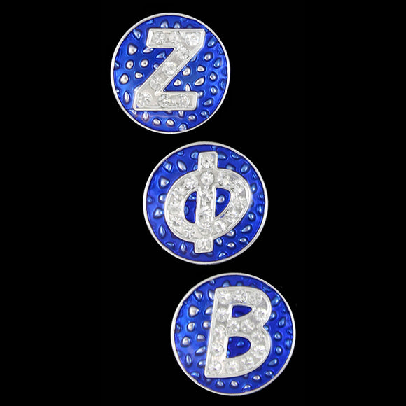 ZPB 3 Snap Button Letter Set