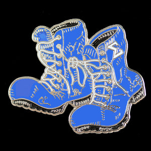 "PBS Sigma Boots Lapel Pin 1""T x 1-1/2"""