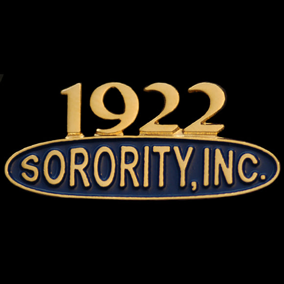 SGR 1'' Sorority Inc Lapel Pin