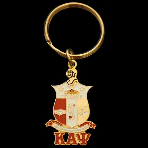 KAP Shield Key Chain 1-5/8 x 7/8