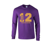 Omega Psi Phi DAWG Long sleeve PERFORMANCE T-shirt
