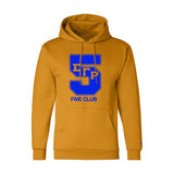 Sigma Gamma Rho Gold Champion Line Number Hoodies
