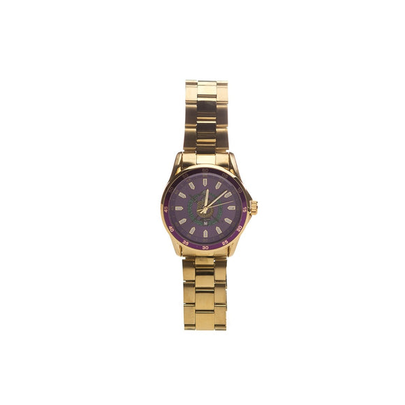 Omega Psi Phi Stainless Steel Watch