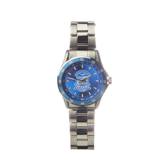 Phi Beta Sigma Stainless Steel Watch