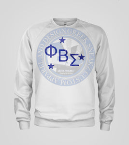 Phi Beta Sigma Galactica Letters T-Shirt