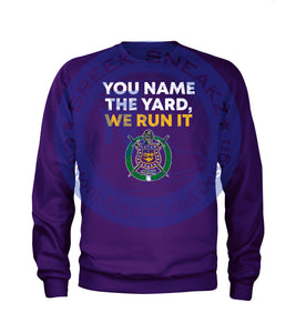 Omega Psi Phi Run the Yard Long Sleeve T-Shirt