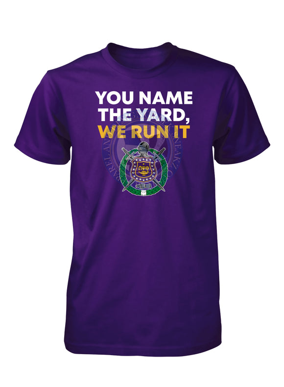 Omega Psi Phi Run the Yard T-SHIRT