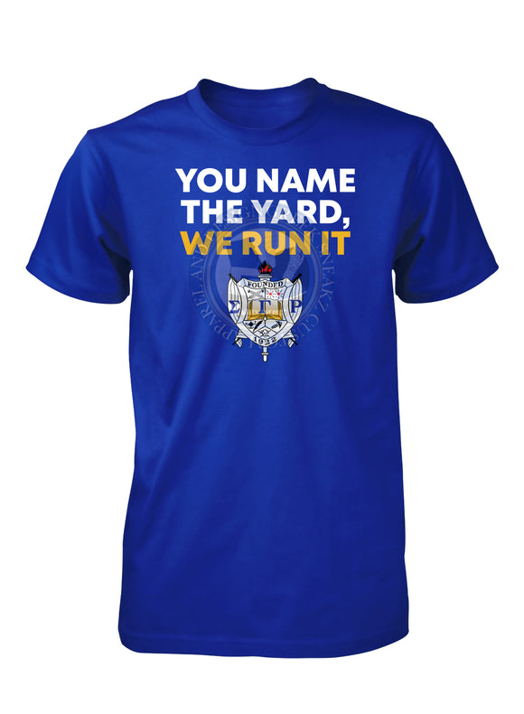 Sigma Gamma Rho Run the Yard T-SHIRT