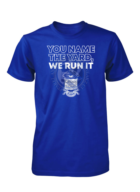 Phi Beta Sigma Run the Yard T-SHIRT