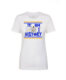SGRho I Am Black History T-Shirt