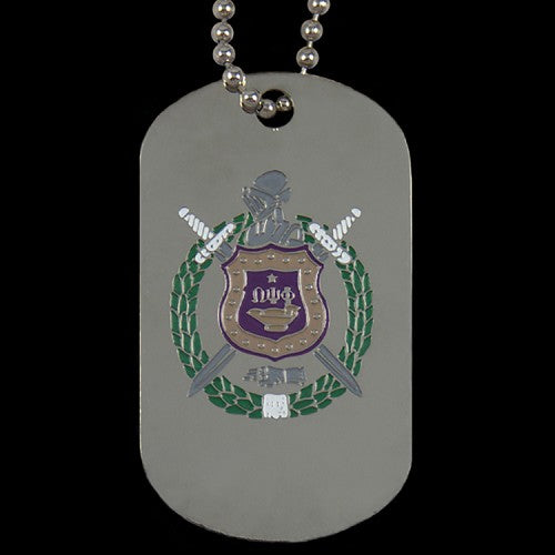 OPP Silver Double-Sided Dogtag W/Chain