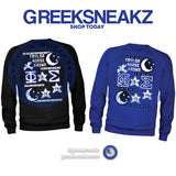 Phi Beta Sigma Ugly Sweater Long Sleeve T-shirt