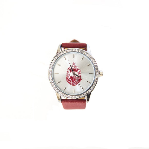 Delta Sigma Theta Sorority Shield Watch