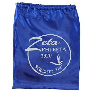 Zeta Phi Beta Drawstring Shoe Bag