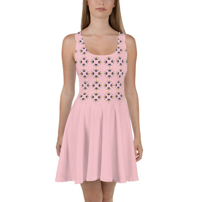 Angel Trump Sleeveless Skater Dress