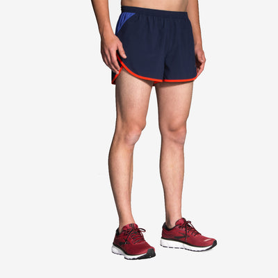 "Brooks - Hightail 3"" Split Short - Homme"