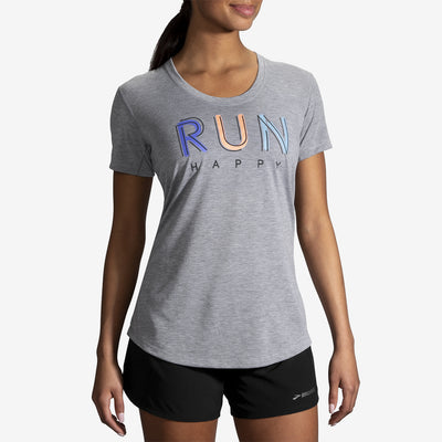 Brooks - Distance Graphic Tee - Femme