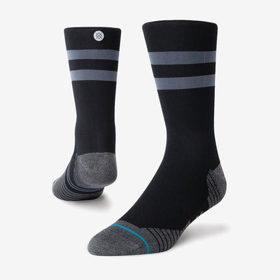 Stance Run - Light Crew ST - Black