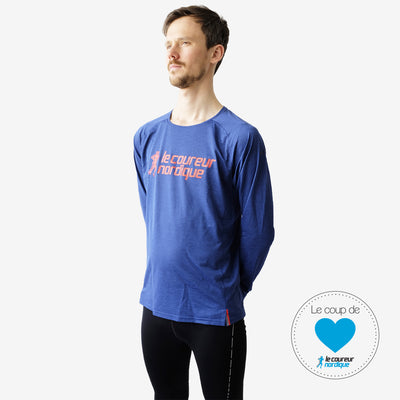 Brooks - Ghost Long Sleeve - Le coureur nordique - Homme