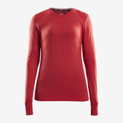 Craft Fuseknit Comfort Roud Neck Long Sleeve (Femme)