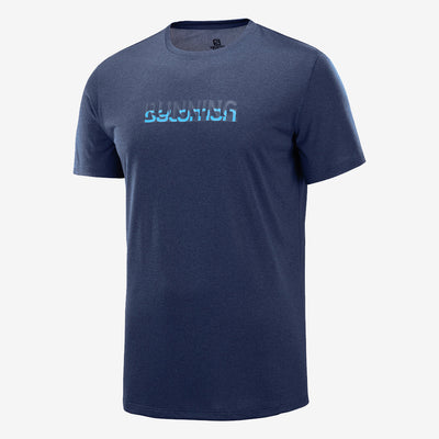 Salomon - Agile Graphic Tee - Homme