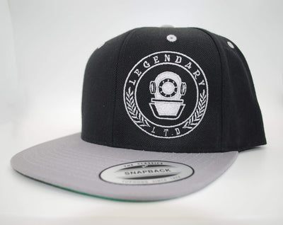black Snap back Hats for men - tattoos hat