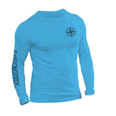 Legendary ltd. Pirate Ship Long Sleeve Performance Tee