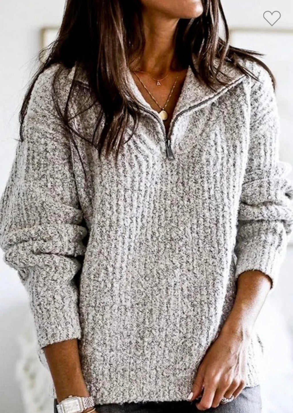 Emerson knit pullover