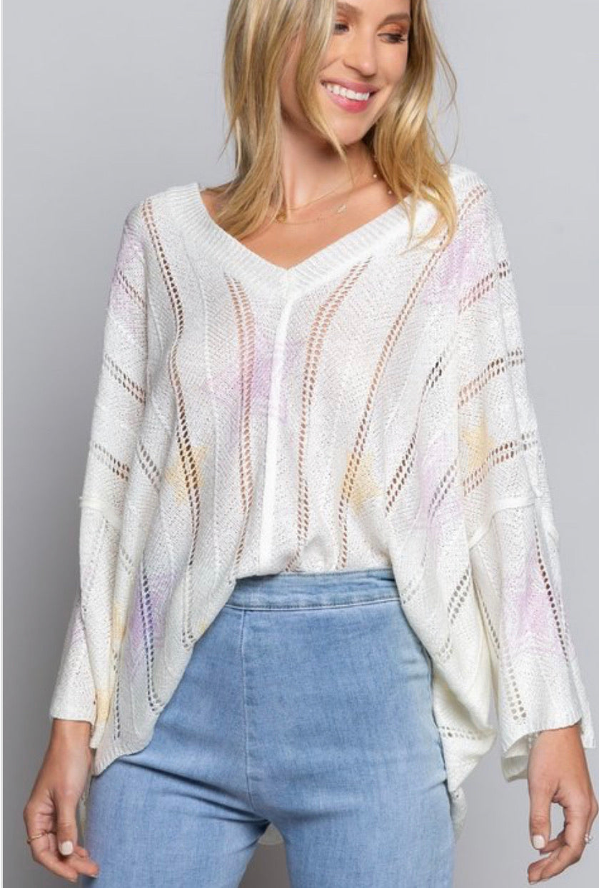 Star bright boho knit