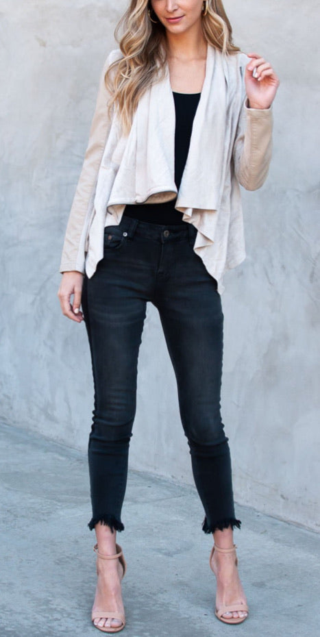 Pistola mid high rise audrey skinny