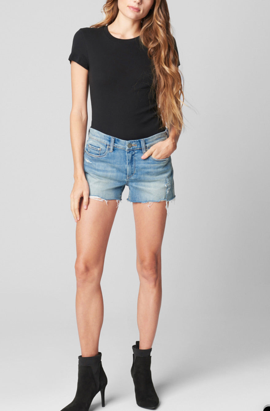 Lover blue denim short