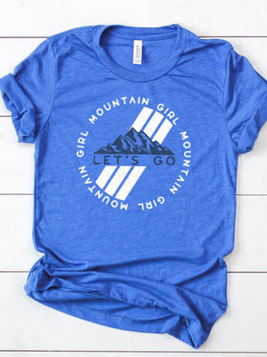 Mountain graphic tee