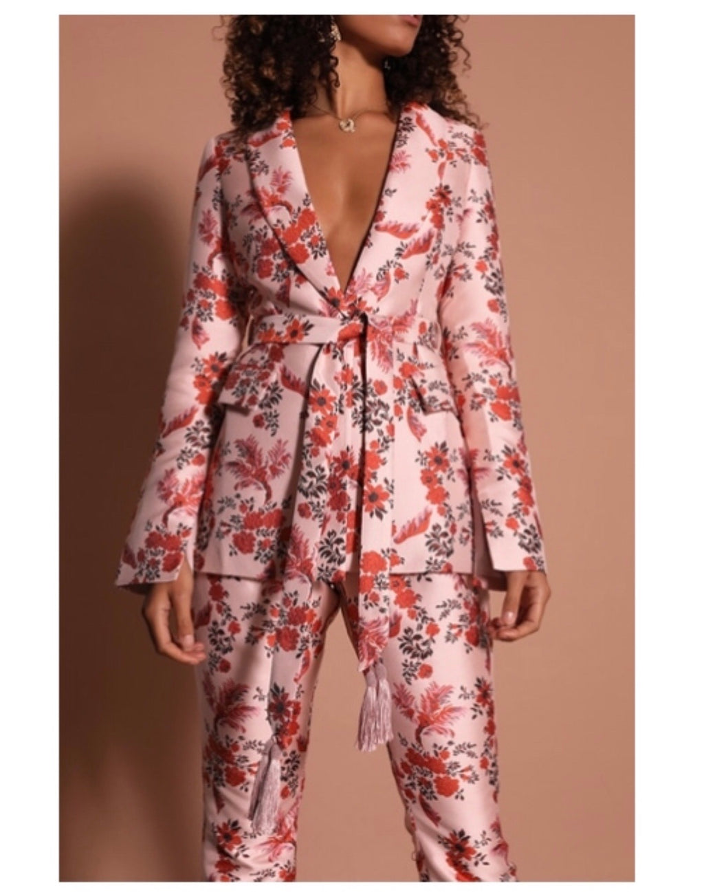 Prem Group Cherry Blossom Blazer
