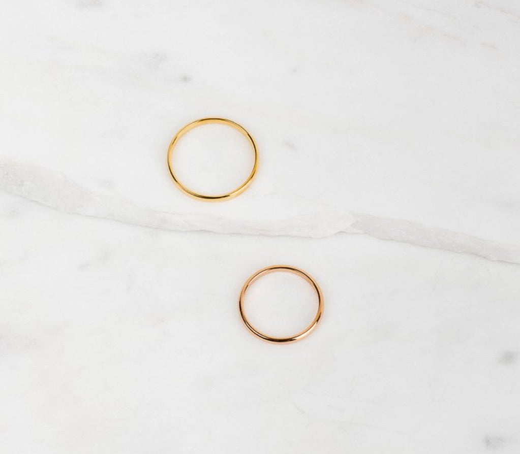 Simon stacking ring