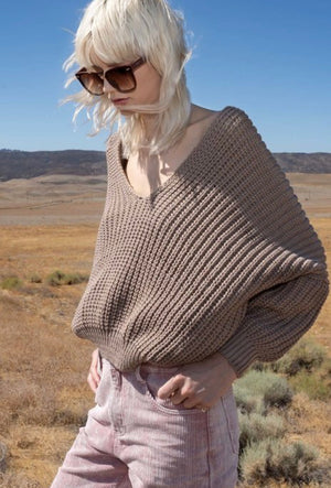 Sue dolman knit