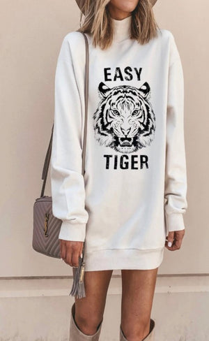 Easy tiger sweater dress