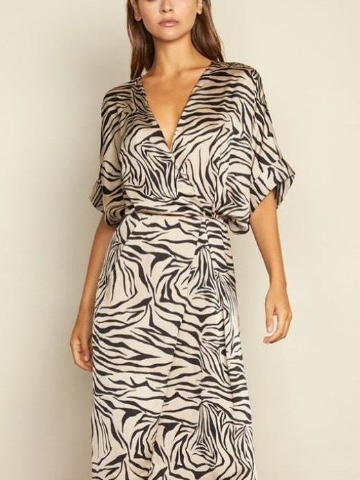 Stripes Zebra dress