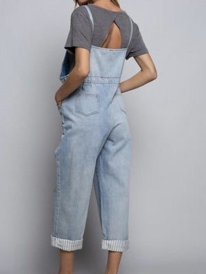 The Jen denim romper