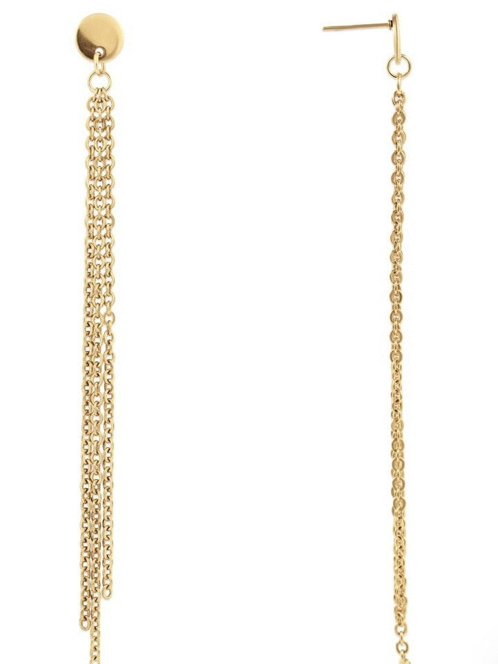 Fens drop chain earring