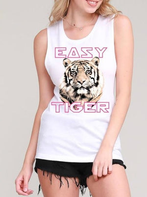 New addition Easy Tiger sleeveless tee