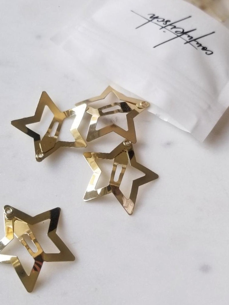 Coutukitsch- Etoile Star Clip (set of 6)