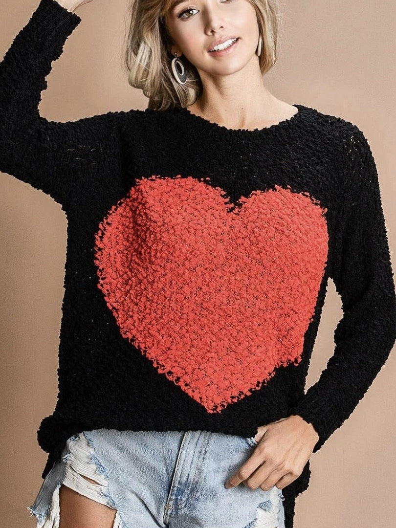 Lonely hearts sweater