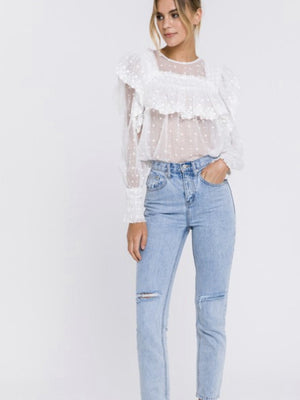 Logan lace blouse